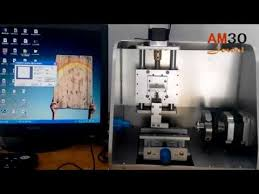 Jewelry Engraving Machine Am30 4 Axis Cnc Router Cnc Jewelry Engraving Machine Ring