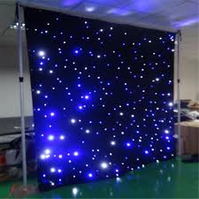 wedding backdrop led led curtain 3mx8m wedding backdrop stage background cloth