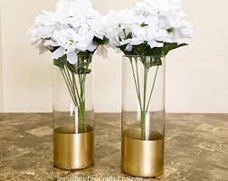 Cylinder Vases Wedding Centerpieces Set Of 2 Glass Cylinder Vases Wedding Centerpiecesbaptism