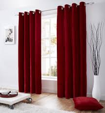 Grey Red Curtains Ikea Velour Curtains Decorate The House With Beautiful Curtains