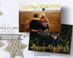 merry christmas card etsy