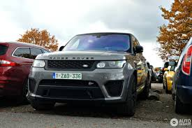 orange range rover svr land rover range rover sport svr 19 november 2016 autogespot