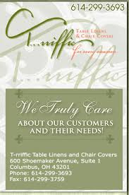 chair rental columbus ohio table linens party rentals chair covers t rriffic table linens