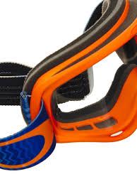 oakley goggles motocross oakley shockwave orange blue clear o frame mx goggle oakley
