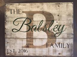 wooden personalized gifts custom wood name sign personalized wedding gift pallet last