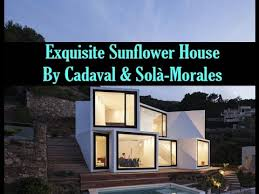Exquisite Sunflower House by Cadaval Solà Morales  YouTube