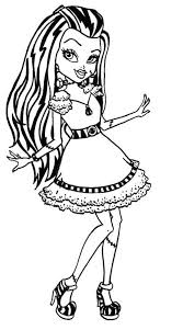 High Characters Coloring Pages Fine Monster High Characters Coloring Pages Following Amazing by High Characters Coloring Pages