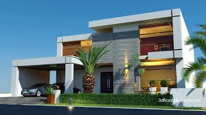 Contemporary Home Plans 3d Front Elevationcom Beautiful Contemporary House 2016 New
