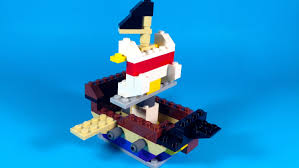 how to build lego pirate ship 10681 lego creative building cube