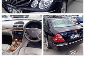 mercedes benz e200 2003 sedan 2 0l petrol manual for sale