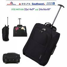 Luggage United Airlines Lightweight Carry On Hand Luggage Wheeled Travel Trolley Bag