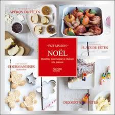 livre de cuisine fait maison coffret 4 mini livres noël fait maison collectif achat livre