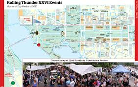 Map Of Washington Dc Monuments by Rolling Thunder Run Washington Dc Run Information