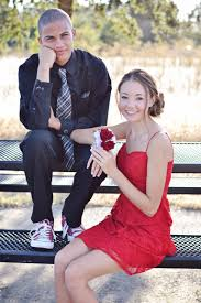 homecoming dance couple couples portrait teens rock steady
