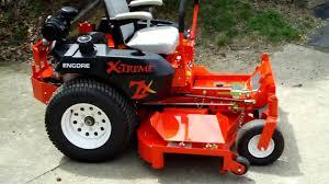 encore xtreme 60 u0027 u0027 zero turn lawn mower youtube