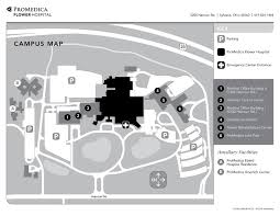 Ut Campus Map Campus Maps Promedica Flower Hospital