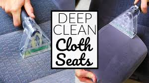 Rent Car Upholstery Cleaner How To Deep Clean Cloth Car Seats Car Interior Detailing Youtube