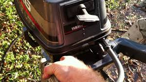 yamaha 6hp 2 stroke for sale part 2 youtube