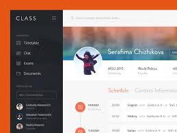 app class class app profile app ui ux and user interface design