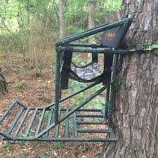 the all american beast lock on stand hang10 treestands 100
