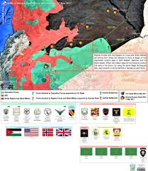 Isw Blog May 2017 by Strategic Changes In Central Syria Colonel Cassad The Fourth