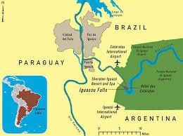 parana river map lynne rickards author