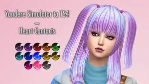 sims 4 blue hair not another anime simblr