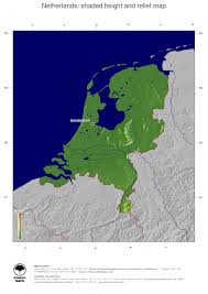 Map Netherlands Map Netherlands Ginkgomaps Continent Europe Region Netherlands