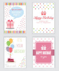 You Are Invited Card Happy Birthday Holiday Greeting And Invitation Card There Are