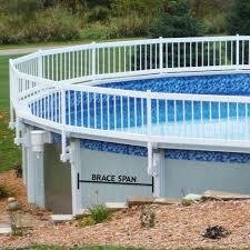 decks above ground pool wood deck kits above ground pool deck