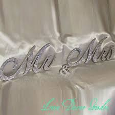 mr and mrs sign for wedding 6 mr mrs sign sweetheart table wedding sign swarovski