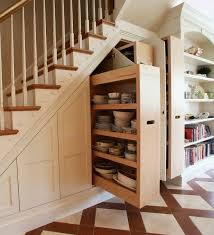 Small Space Stairs - storage under the stairs in the basement basement beauty