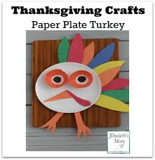 thanksgiving crafts paper plate turkey
