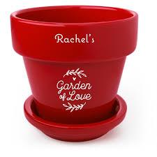 personalized flower pot garden of personalized flower pots shutterfly