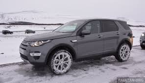 land rover iceland driven l550 land rover discovery sport in iceland image 344850