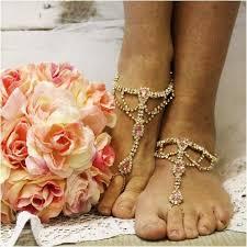 wedding barefoot sandals something pink barefoot sandals pink wedding foot jewelry pink