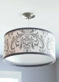 Drum Shade Pendant Light Fixture Drum Shade Pendant Light Drum Shade Hanging Light Fixture