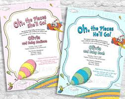 oh the places you ll go baby shower oh the places you ll go baby shower invitation