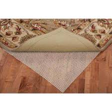 Underpad For Area Rugs 4 X 6 Rug Padding U0026 Grippers Rugs The Home Depot