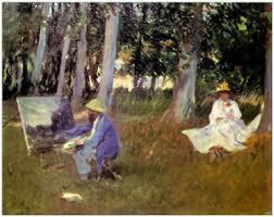Claude Monet Blind Kate Dudding Storyteller