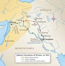 Rome On A Map Julian U0027s Gamble In The Desert Historynet