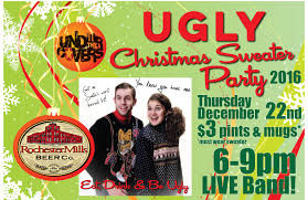 upcoming events annual ugly christmas sweater party rochester