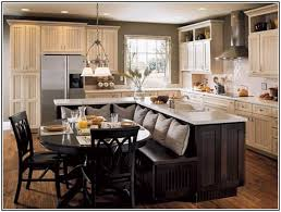 how to a kitchen island with seating kitchen island dining table combo okindoor com kitchen