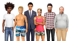 human barbie doll family barbie now comes in three new body types