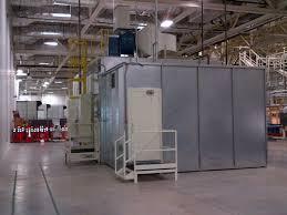 Spray Booth Ventilation System Sheet Metal U0026 Hvac Ductwork Ventilation Trade Mark Industrial Inc