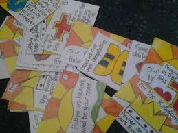 flame creative children u0027s ministry lord u0027s prayer cards