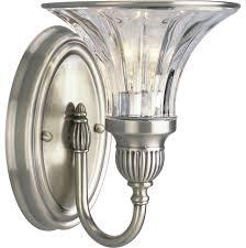 Traditional Bathroom Vanity Lights Thomasville Lighting Roxbury 1 Light Bath And Vanity Fixture