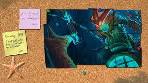 league of legends thresh corkboard wallpaper by sirshoop on deviantart
