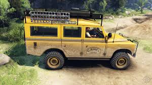 land rover series 3 off road rover defender series iii v2 2 camel trophy for spin tires