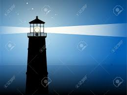 light house at night lighthouse silhouette at night royalty free cliparts vectors and